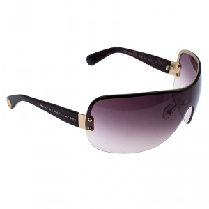 Marc by Marc Jacobs Brown Gradient MMJ 001/S Shield Sunglasses