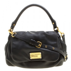 Marc by Marc Jacobs Black Leather Classic Q Lil Ukita Satchel