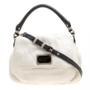 حقيبة مارك باي مارك جاكوبس يد علوية Q ليل يوكيتا كلاسيكية جلد بيضاء