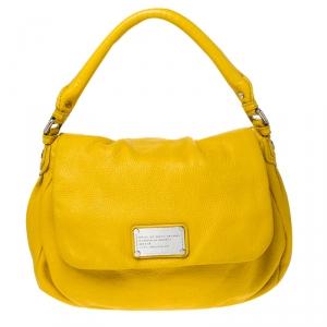 حقيبة مارك باي مارك جاكوبس كلاسيك كيو ليل يوكيتا جلد صفراء