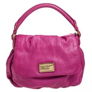 حقيبة يد علوية مارك باي مارك جاكوبس كلاسيك كيو ليل يوكيتا جلد وردية