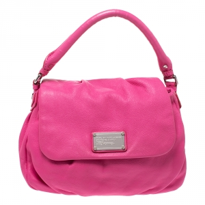 Marc by Marc Jacobs Pink Leather Classic Q Lil Ukita Satchel