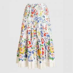 Marc Jacobs Multicoloured The Praire Liberty Print Midi Skirt US 14