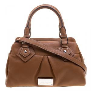 Marc Jacobs Brown Leather Small Groovee Satchel