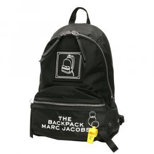 حقيبة ظهر مارك جاكوبس بيكتوغرام جلد أسود