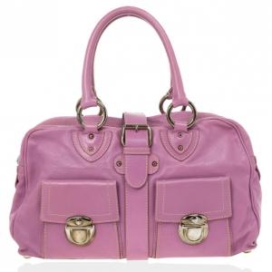 Marc Jacobs Pink Venetia Satchel Bag