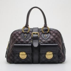 Marc Jacobs Quilted Leather Venetia Satchel Handbag