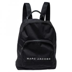 Marc Jacobs Black Nylon Classic Logo Backpack
