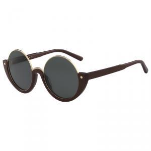 Marni Green ME614S Round Sunglasses