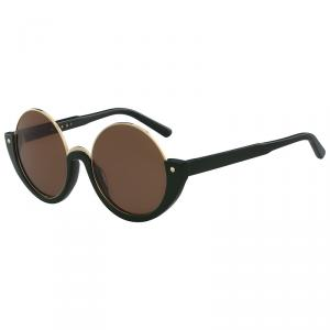 Marni Brown ME614S Round Sunglasses
