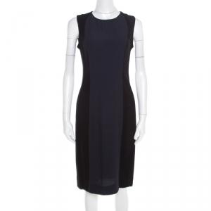 Marni Colorblock Sleeveless Crepe Dress M - used