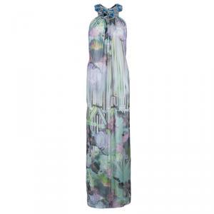 Matthew Williamson Multicolor Embellished Maxi Dress M used