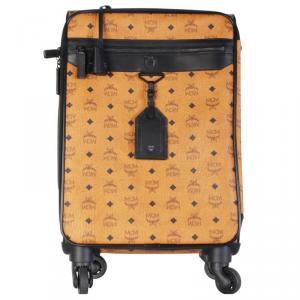 حقيبة تروللي إم سي إم ترافر كانفاس كونياك فيستوس مقوي
