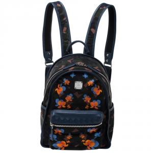 MCM Multicolor Munic Lion Camo Nylon Small Dieter Backpack