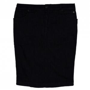 McQ by Alexander McQueen Criss Cross Denim Skirt M