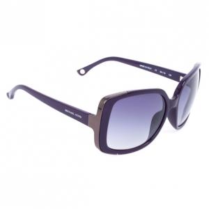 Michael Kors MKS290 Purple Gabriella Oversized Womens Sunglasses