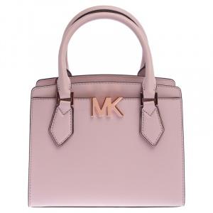Michael Kors Blush Pink Leather Medium Mott Tote