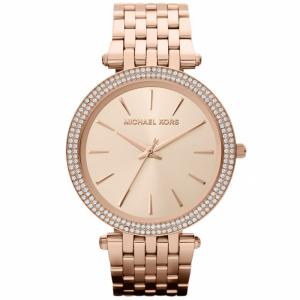 Michael Kors Rose Gold Plated Steel Darci MK3192 Women's Wristwatch 39MM