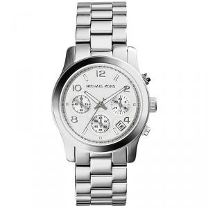 Michael Kors Silver Stainless Steel Runway MK5076 Women's Wristwatch 38MM
