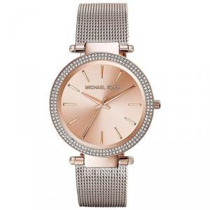 Michael Kors Rose Gold Plated Steel Darci MK3369 Women's Wristwatch 39MM