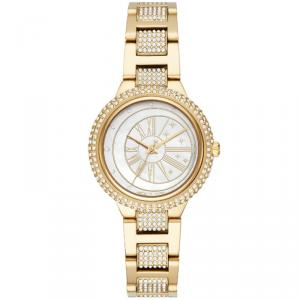 Michael Kors MOP Gold Plated Steel Taryn MK6567 Women's Wristwatch 33MM