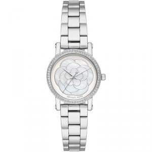 Michael Kors MOP Stainless Steel Petite Norie MK3891 Women's Wristwatch 28MM