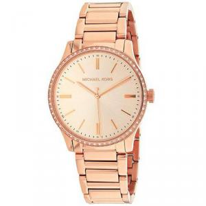 Michael Kors Rose Gold Plated Steel Bailey MK3809 Women's Wristwatch 38MM