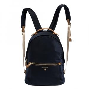 Michael Kors Dark Blue Nylon Backpack