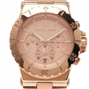 Michael Kors Pink Stainless Steel MK-5314 Women's Wristwatch 42MM