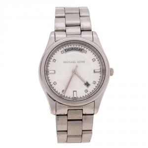 Michael Kors Silver Stainless Steel Colette MK6067 Women's Wristwatch 33 mm