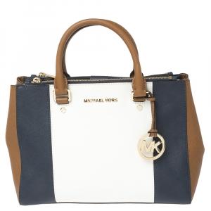 حقيبة مايكل مايكل كورس سوتون جلد متعدد الألوان متوسطة