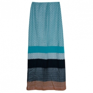Missoni Color-Block Maxi Skirt S