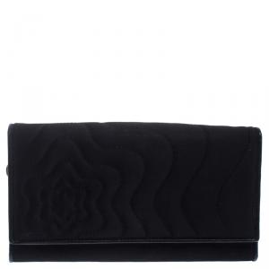 Montblanc Black Satin Starisma Dalila Continental Wallet