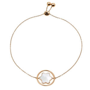 Montblanc Star Signet Mother of Pearl 18K Rose Gold Bracelet