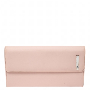 Montblanc Rose Pink Leather Lady Star Continental Wallet