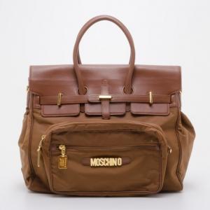 Moschino Vintage Redwall 'Birkin' Satchel Bag