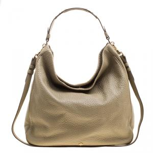 Mulberry Light Green Leather Evelina Hobo