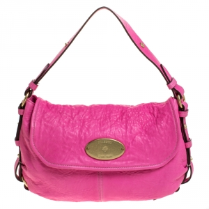 Mulberry Pink Leather Small Hayden Hobo