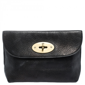 Mulberry Black Leather Pouch