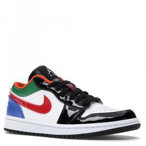 Nike Jordan 1 Low Multi Black Toe Size 36