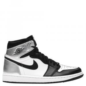 Nike Jordan 1 Silver Toe Sneakers Size (US 11W) EU 43