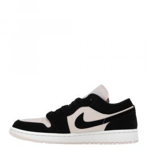 Nike Jordan 1 Low Black Guava Ice Sneakers Size EU 40 (US 8.5W)