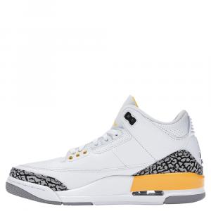 Nike Jordan 3 Retro Laser Orange Sneakers Size EU 41 (US 9.5W)