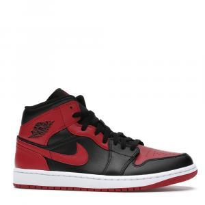 Nike Jordan 1 Mid Banned Sneakers Size (US 4.5Y) EU 36.5