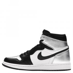 Nike Jordan 1 Silver Toe Sneakers Size (US 5.5W) EU 36