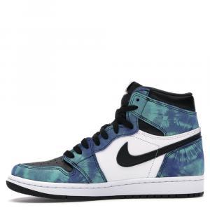 Nike Jordan 1 Tie Dye Sneakers Size (US 6W) EU 36.5