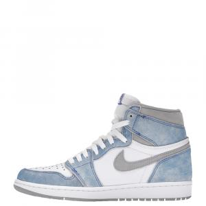 Nike Jordan 1 Hyper Royal Sneakers Size US 7 (EU 40)