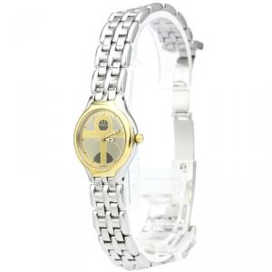 Omega Two Tone 18K Yellow Gold and Stainless Steel De Ville Women's Wristwatch 23MM