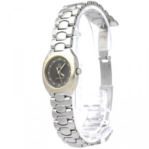 Omega Grey Stainless Steel Seamaster Polaris Women's Wristwatch 21MM