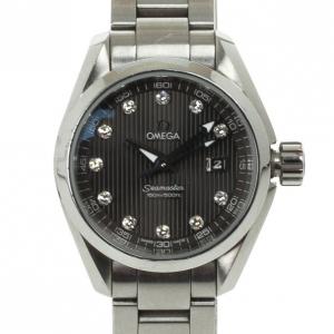 Omega Seamaster Mini Diamond Womens Wristwatch 30 MM